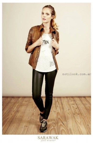 calza y camisa engomada SARAWAK invierno 2016