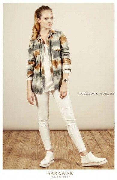 camisa batik SARAWAK invierno 2016