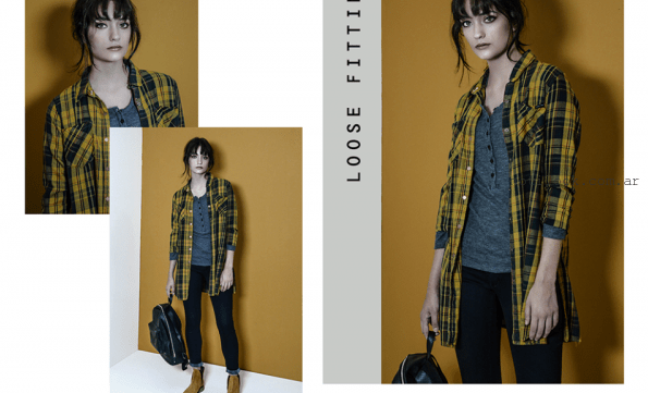 camisa escocesa mujer O'ASSIAN invierno 2016