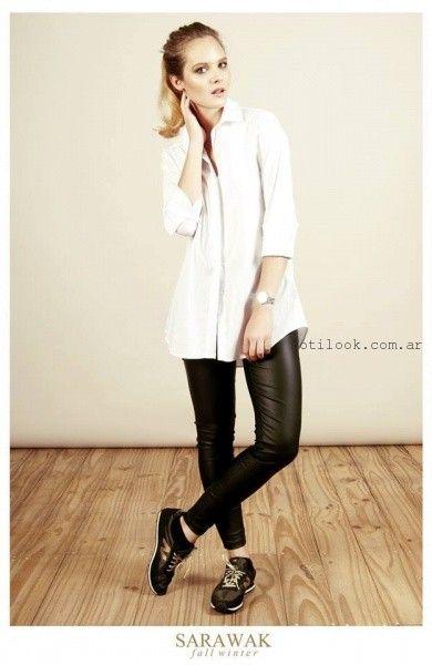camisas largas para mujer SARAWAK invierno 2016