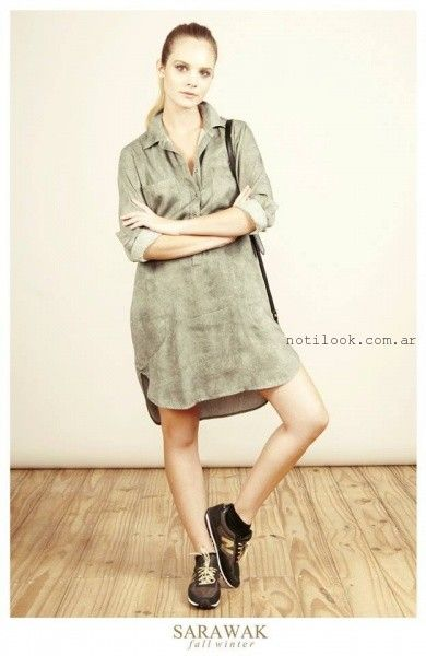 camisola larga vestido SARAWAK invierno 2016