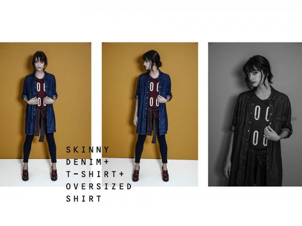 camisas denim mujer O'ASSIAN invierno 2016