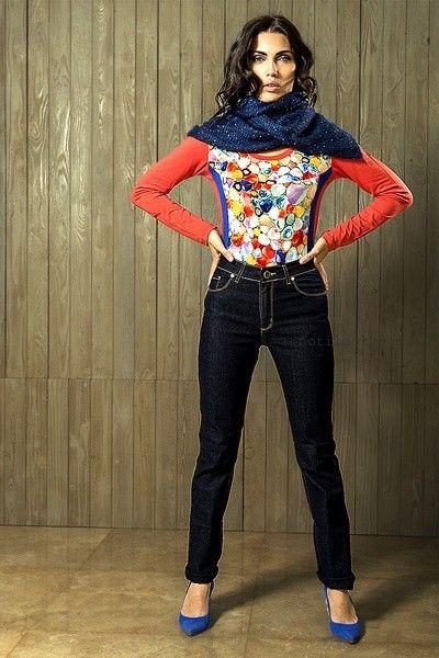 jeans rectos para señoras  Veramo invierno 2016