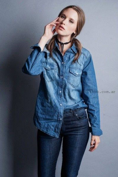 look total denim orix invierno 2016