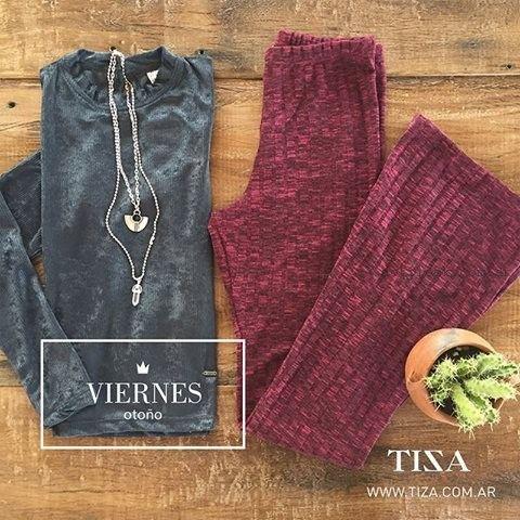 pantalon oxford tejido Tiza invierno 2016