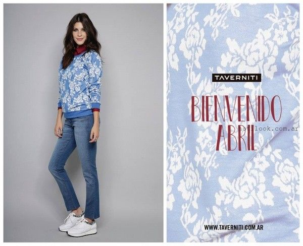sweater mujer  Taverniti jeans invierno 2016