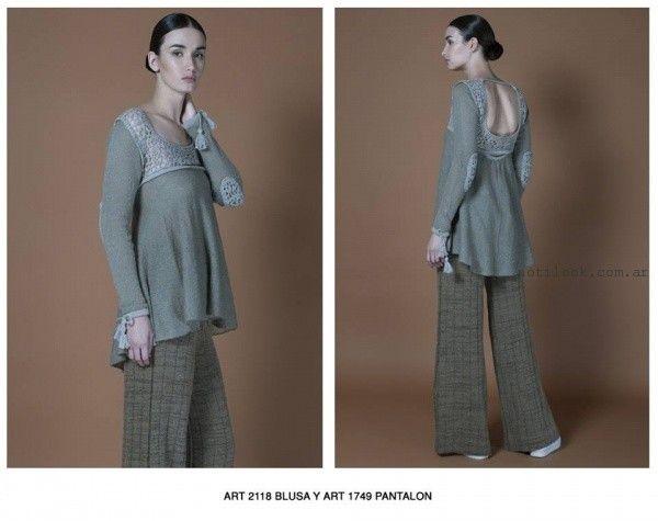 sweaters Agostina bianchi tejidos invierno 2016
