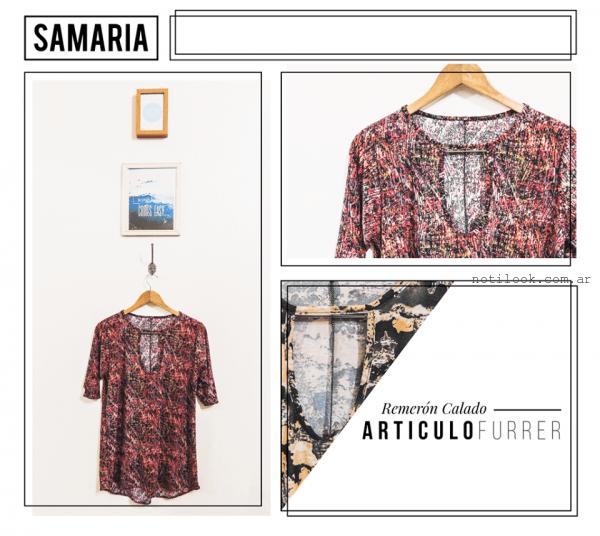 camisolas samaria invierno 2016