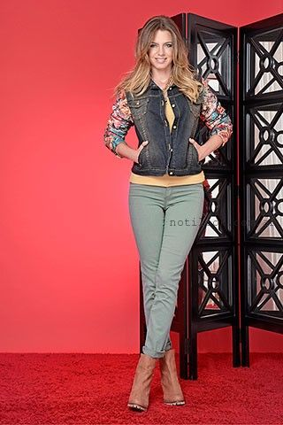 campera de jeans y cuero estampado moravia jeans invierno 2016