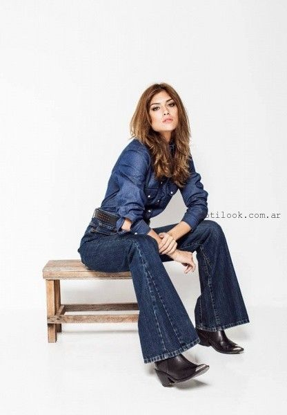 look total denim Soulfly concept invierno 2016