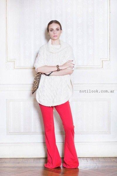 poleron tejido Millie invierno 2016