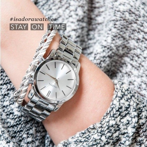reloj  Isadora otoño invierno 2016