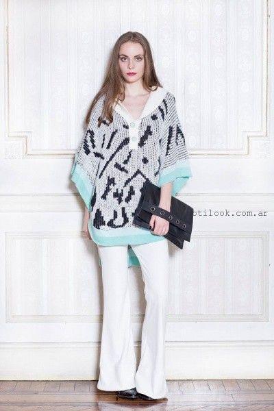 sweater holgado tejido Millie invierno 2016