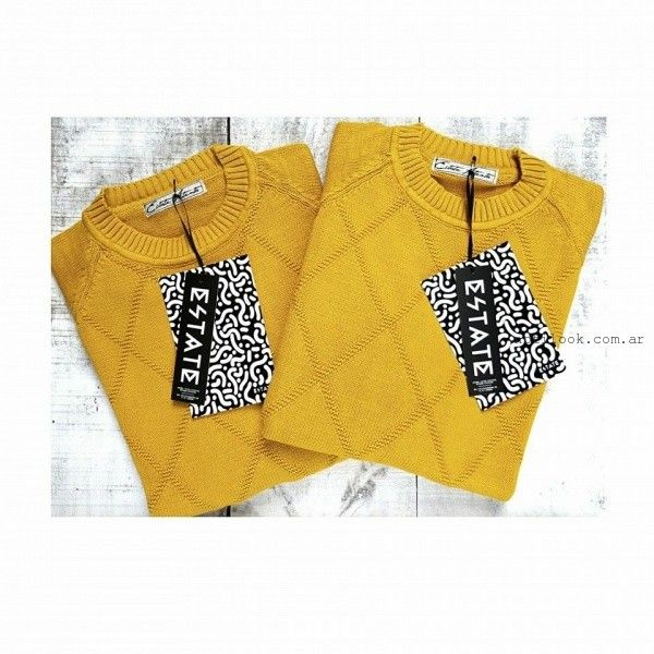 9830d3c1d0c37 sweater rombo mujer Estate Atenta otoño invierno 2016