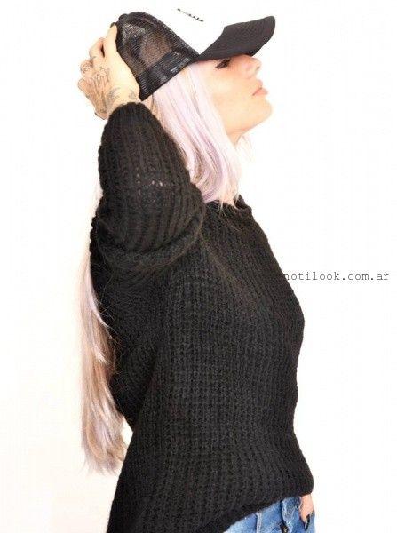 sweater tejido The Vox invierno 2016