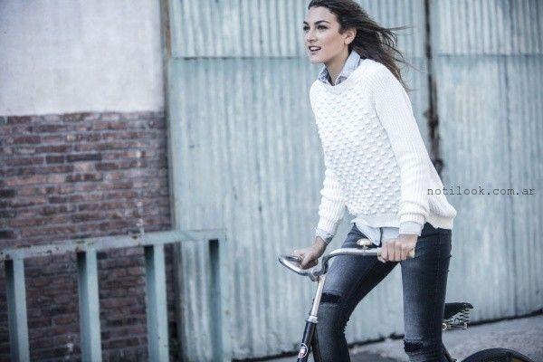 sweater tejido Wrangler mujer invierno 2016