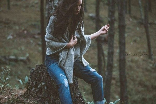 tejidos para mujer Abstracta invierno 2016