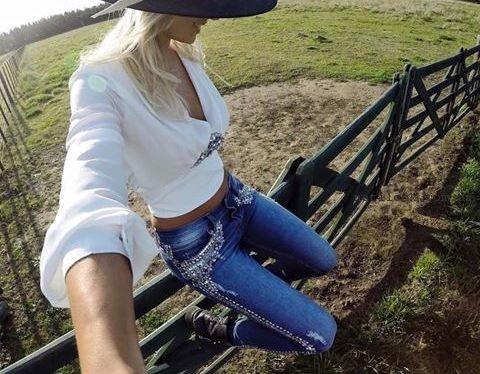 Jeans bordados verano 2017 - ROSH