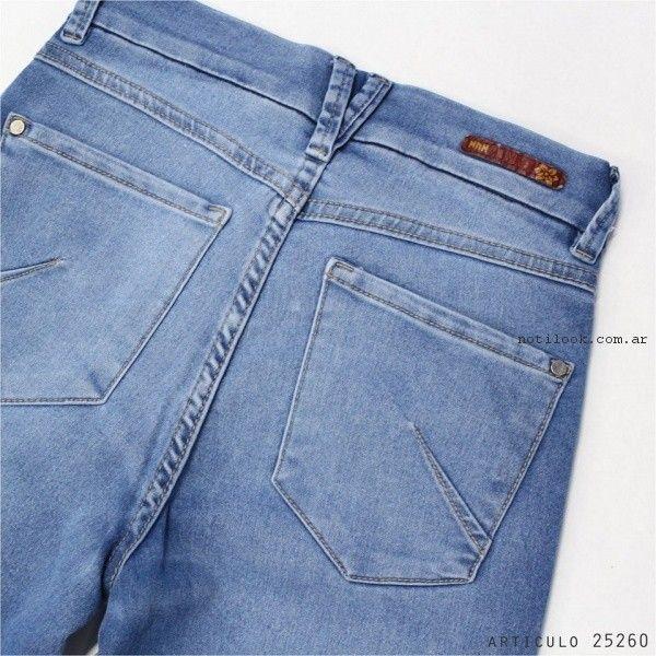 Jeans lavado Nahana primavera verano 2017