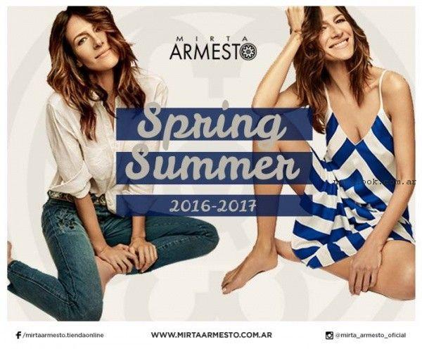 Mirta Armesto primavera verano 2017 - Anticipo