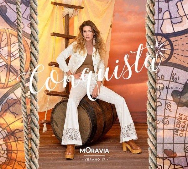 Moravia - conjunto blanco para mujer verano 2017