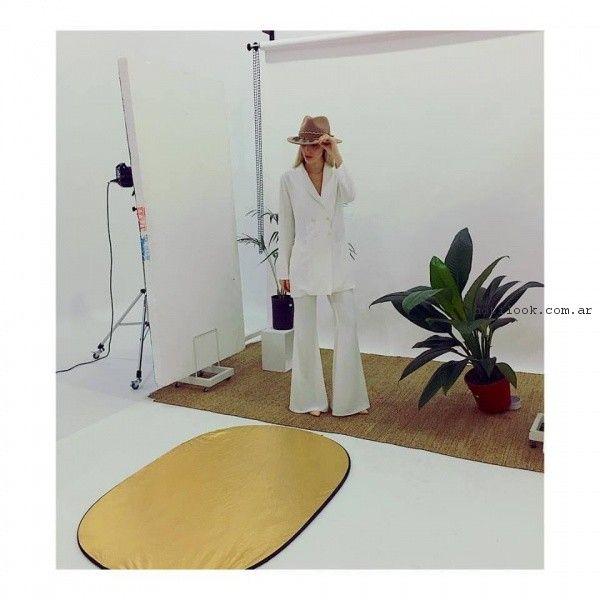 Traje blanco de mujer Millie verano 2017