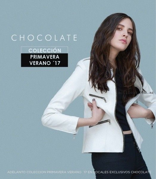 campera verano 2017 - Chocolate