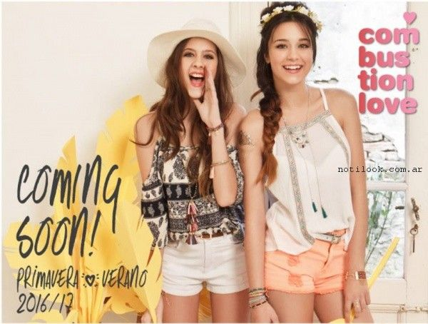 combustion love - moda teen verano 2017