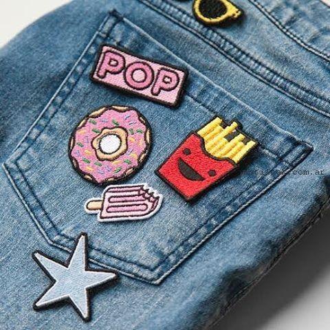 jeans con apliques verano 2017 como quieres que te quiera