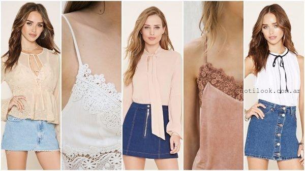 tendencia verano 2017 - romatico y estilo lencero