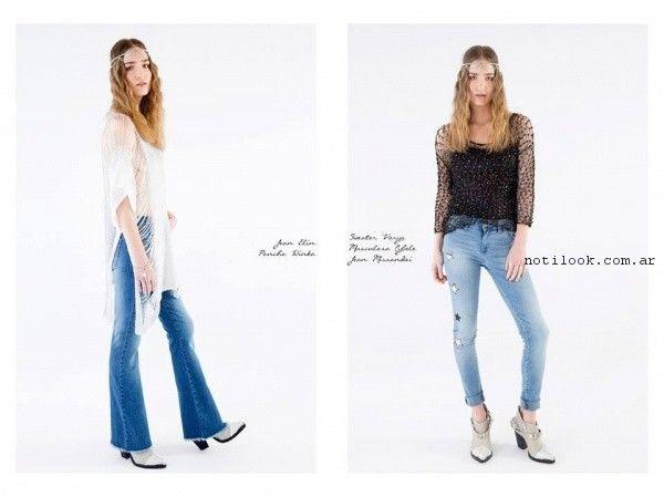 look con jeans la cofradia primavera verano 2017