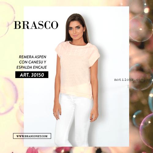 look con pantalon blanco brasco primavera verano 2017
