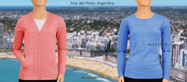 sweater de hilo mauro sergio primavera verano  2017