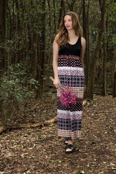 vestidos de dia Okoche primavera verano 2017