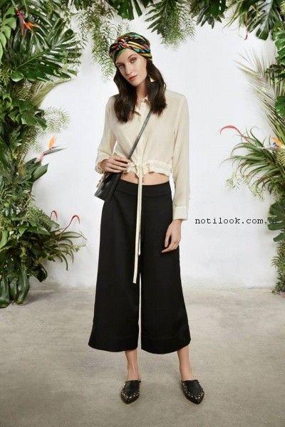 Crop pants verano 2017 - Maria Cher