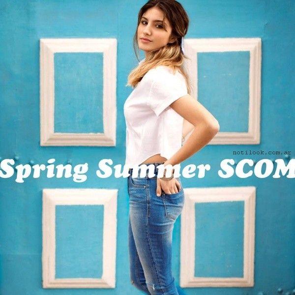 Jeans chupin primavera verano 2017 - Scombro