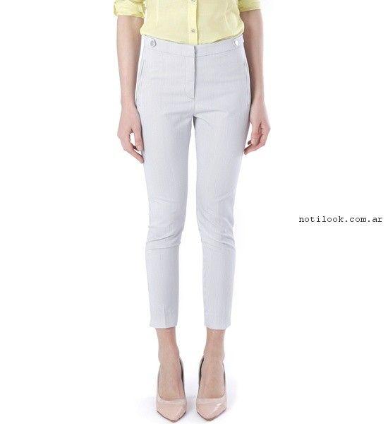 Pantalon blanco  verano 2017 - Markova