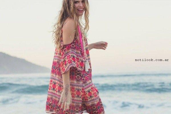 Vestido estampado playa verano 2017 - Rimmel