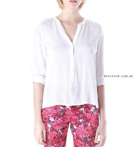 camisa blanca mujer  verano 2017 - Markova