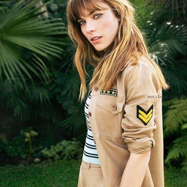 chaquetas estilo camisa con apliques verano 2017 sans doute