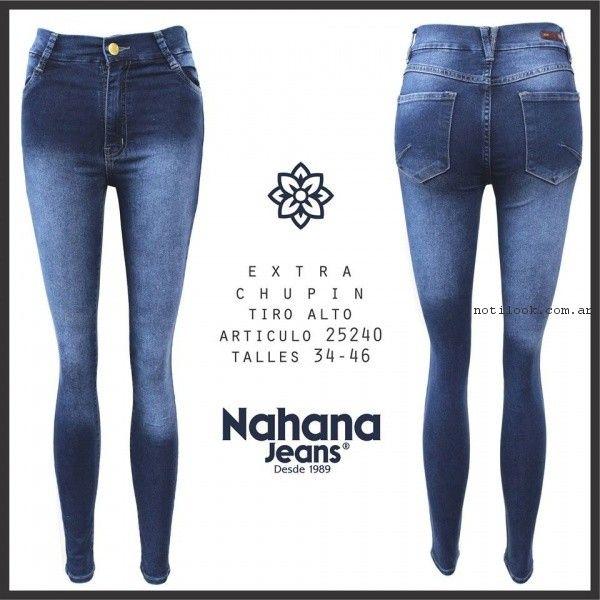 chupin nahana jeans primavera verano 2017