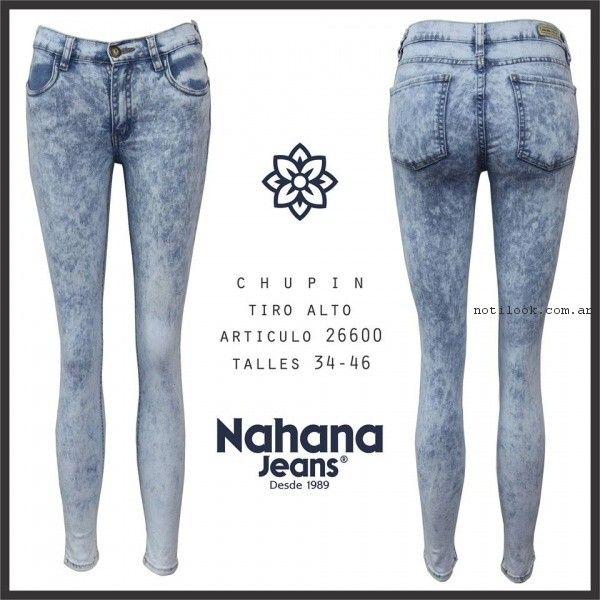 chupin nevado nahana jeans verano 2017