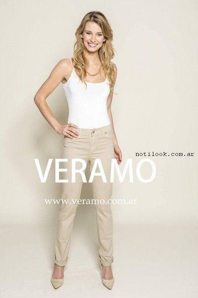 jeans de colores veramo primavera verano 2017