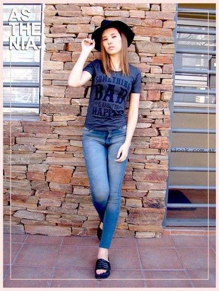 look con jeans Asthenia primavera verano 2017