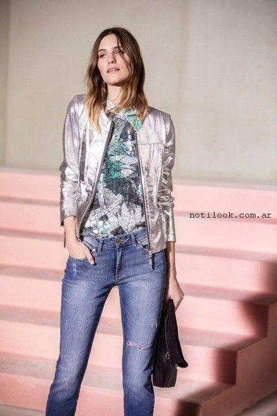 look en jeans noche Vitamina primavera verano 2017.