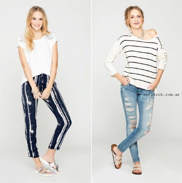 look en jeans primavera verano 2017 - Nucleo moda