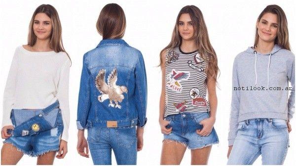 moda informal juvenil - jeans 47 Street verano 2017