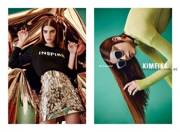 moda teen verano 2017 - Kimeika