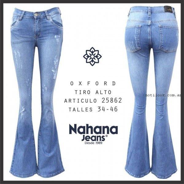 nahana jeans con roturas primavera verano 2017