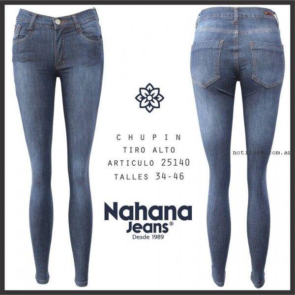 nahana jeans elastizados primavera verano 2017